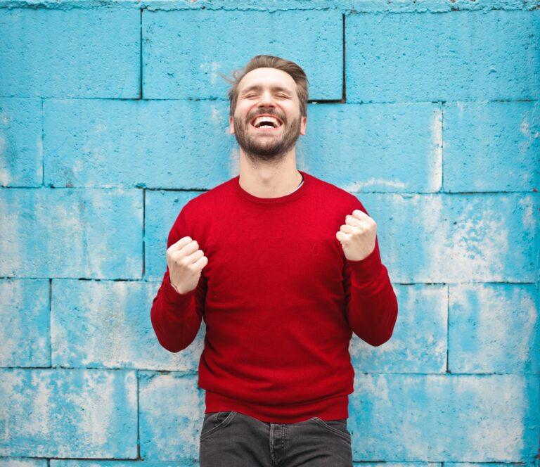man free from chronic pelvic pain